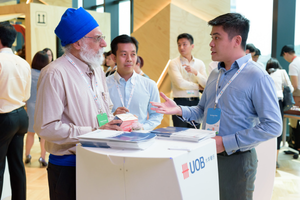 UOB @ Google Singapore Office Opening