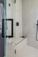 Fiorito Interior Design, interior design, remodel, master bathroom, modern, shower