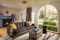 Fiorito Interior Design, interior design, remodel, transitional, sofa, ottoman, custom drapes, living room
