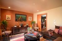Fiorito Interior Design, interior design, remodel, television room, mirror television, hidden TV, media console, sectional, ethnic, eclectic, Craftsman