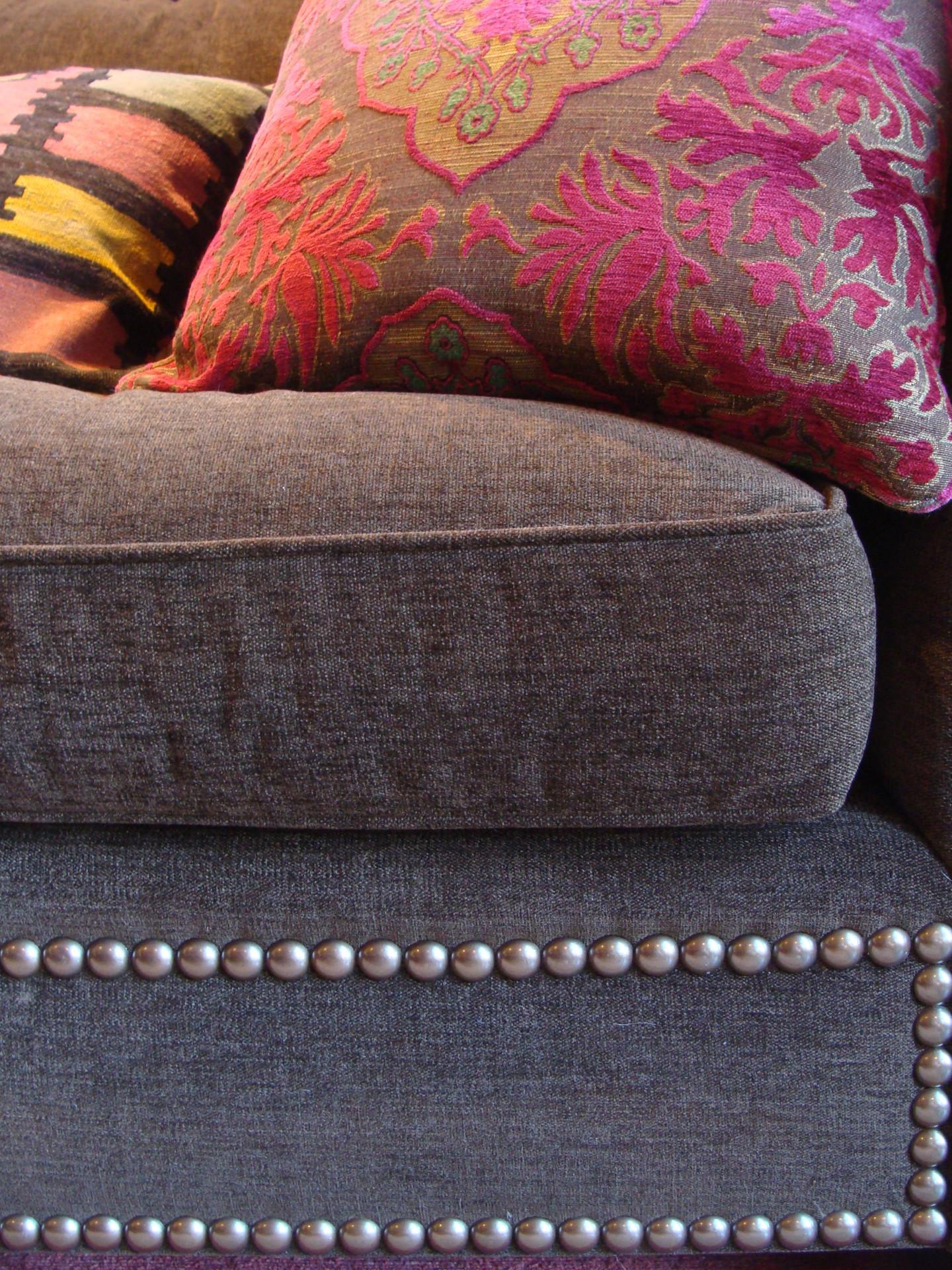 Fiorito Interior Design, interior design, remodel, television room, sectional, pillow, ethnic, eclectic, Craftsman