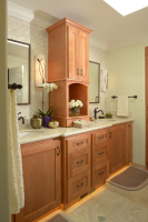 Fiorito Interior Design, interior design, remodel, master bathroom, custom vanity, mosaic tile, traditional