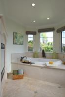 Fiorito Interior Design, interior design, remodel, master bathroom, soaking tub, fireplace, traditional