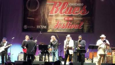 Chicago Blues Festival Otis Rush Tribute June 2016