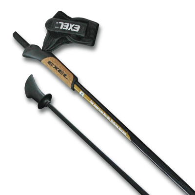 NEW EXEL Urban Skier Nordic Walking Poles - our lightest carbon poles