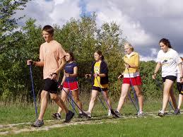 The best fitness walking poles from EXEL of Finland - quality one-piece poles. Don't get scammed by collapsible poles with cheap/flimsy twist-locks and flip-locks