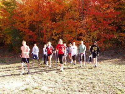 Nordic Walking Poles for athletes