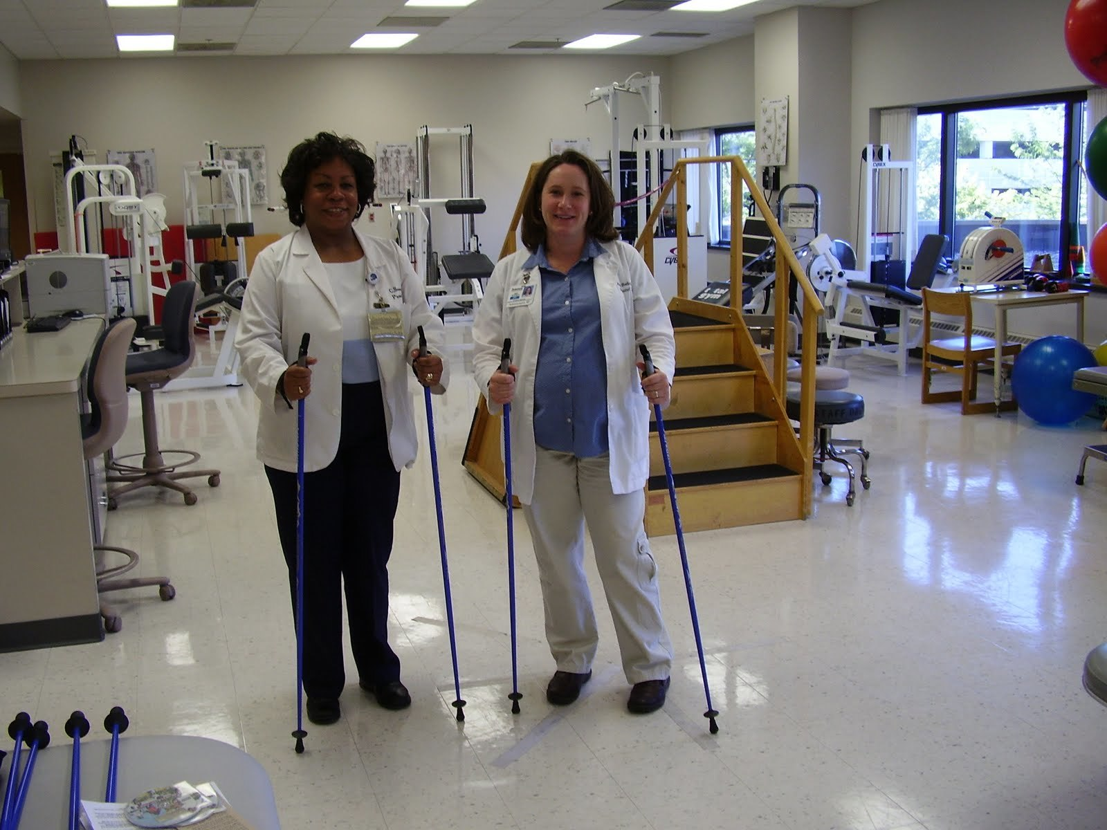 The best Nordic Walking Poles for balance, stability and physical therapy