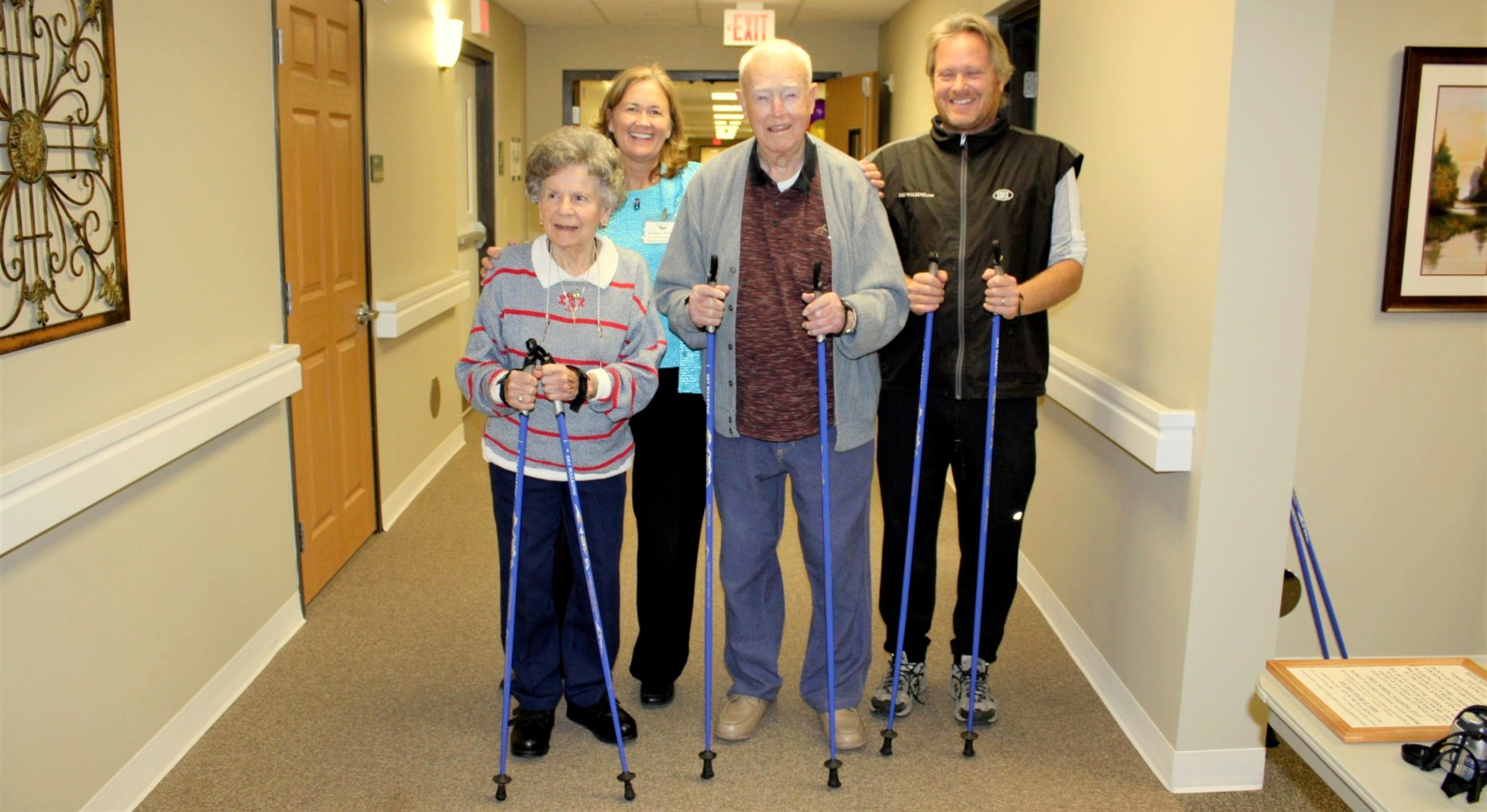 SWIX Nordic Walking Poles For Seniors