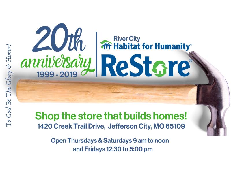 Habitat ReStore 20th Anniversary