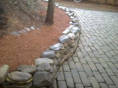Stone Work and Paver Patios