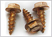 ZIP Screws HWH Needlepoint Copper Plated
