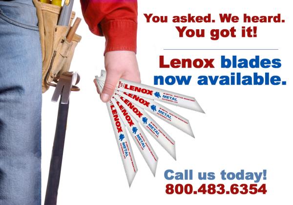 Lenox Blades Ad