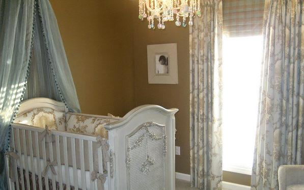 Nursery With Toile Panels
