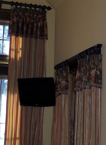 Panels with Attached Valance