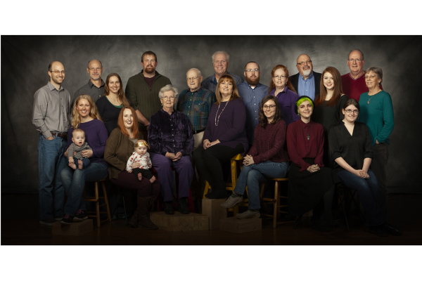 Multi Generational Family Reunion Portraits