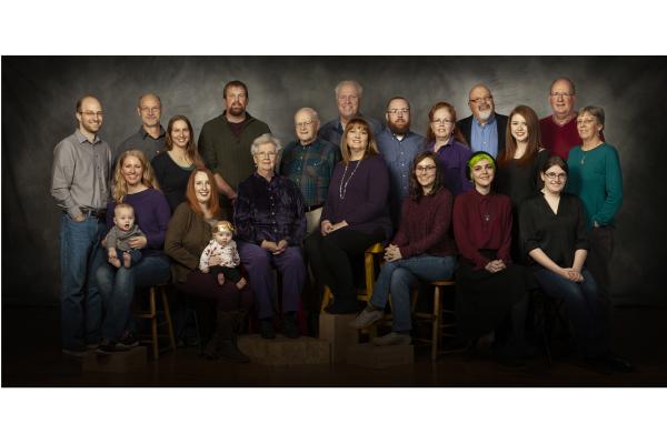 Multi Generational Family Reunion Portraits