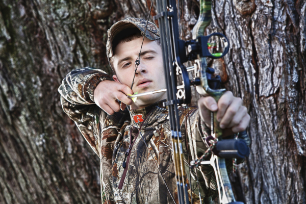Compound Bow Senior Photo