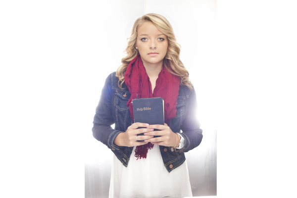 Christian Senior Photo Bible