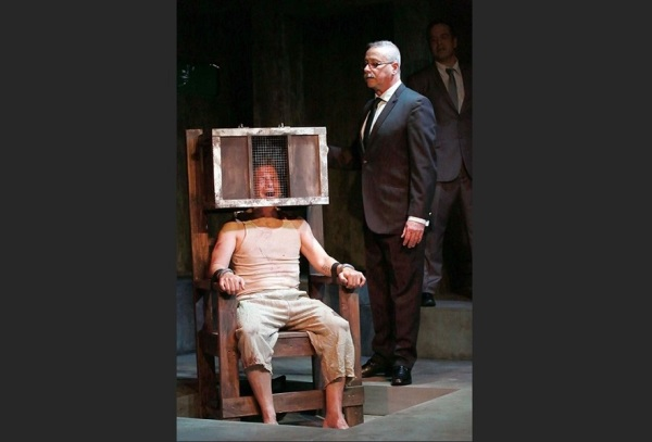 As O'Brian in GEORGE ORWELL'S 1984