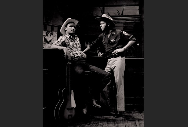 As Sheriff Landon in THE NIGHT HANK WILLIAMS DIED | Photo: Ted Macke