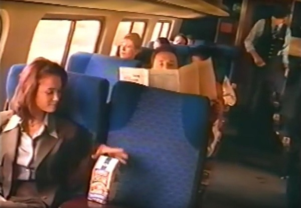 In a television commercial for Pepperidge Farm Cookies