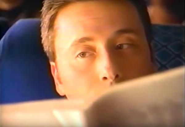 Geoff Fiorito, actor, on camera, television commercial, Pepperidge Farm, Sausalito