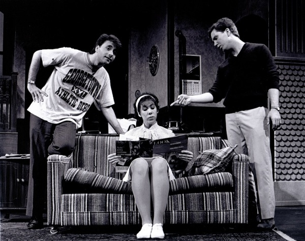 As Norman in THE STAR SPANGLED GIRL | Photo: Ted Macke