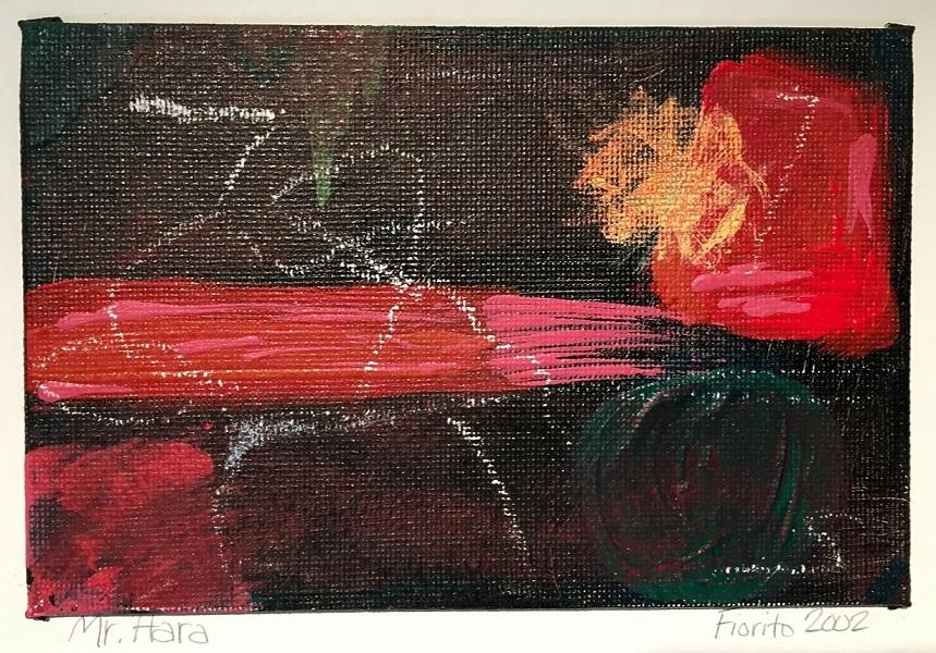 art, painting, acrylic, Geoff Fiorito, Jeff Fiorito, Mr. Hara
