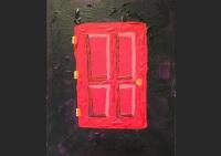 art, painting, acrylic, Geoff Fiorito, Jeff Fiorito, Door For A Dead Child