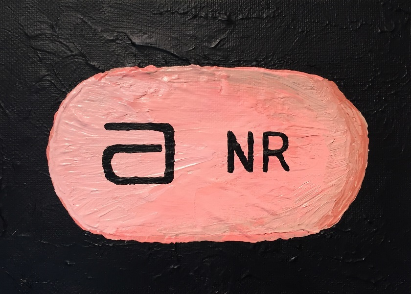 art, painting, acrylic, Geoff Fiorito, Jeff Fiorito, Pills series, Depakote