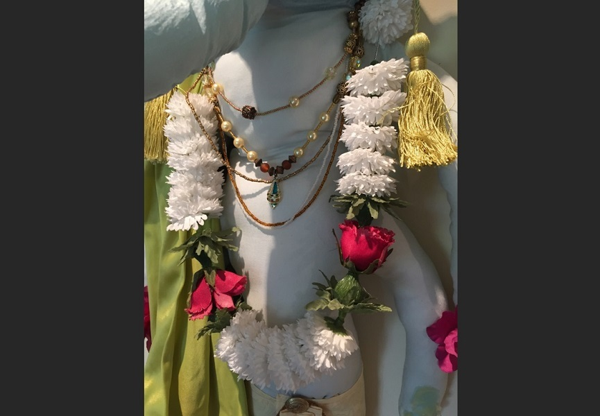 art, soft sculpture, fabric, mixed media, Geoff Fiorito, Jeff Fiorito, Lord Ganesha