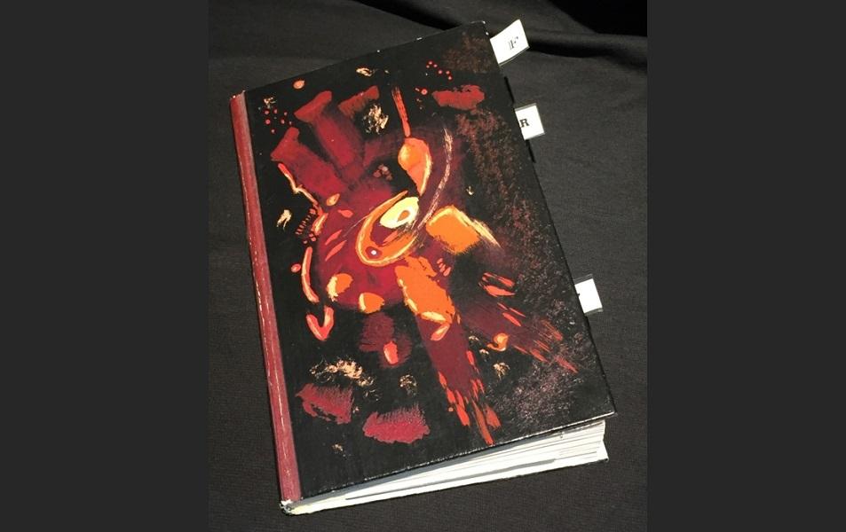 art, book, collage, mixed media, Geoff Fiorito, Jeff Fiorito, Muscae Volitantes
