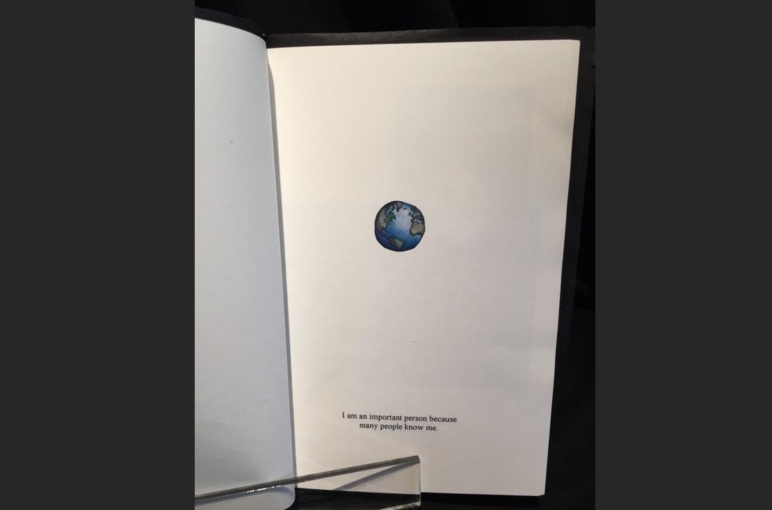 art, book, handmade, Geoff Fiorito, Jeff Fiorito, I Am An Important Person Because