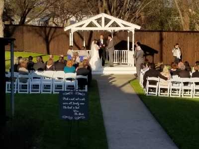 Congratulations Mark & Kadee