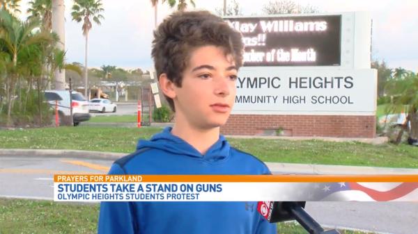 Students Protest Gun Violence After Parkland