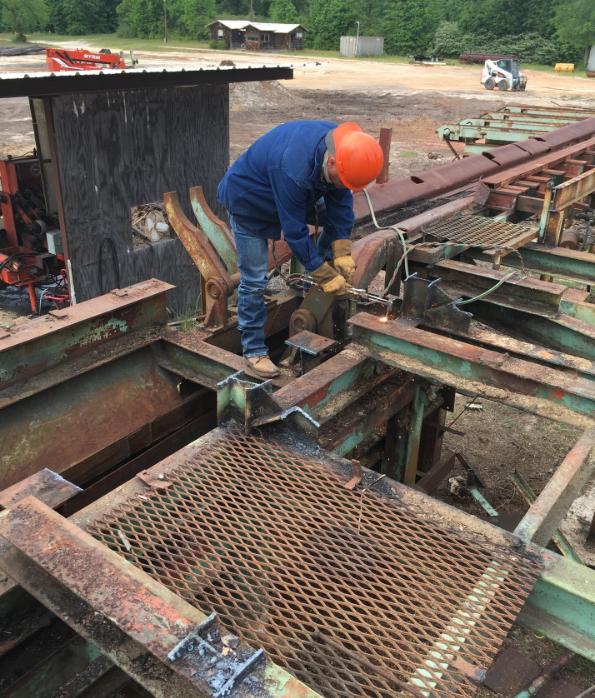 Sawmill Demolition