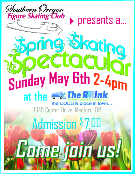 Spring Skating Spectacular flyer