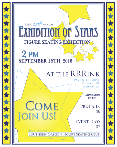 Exhibition of Stars flyer