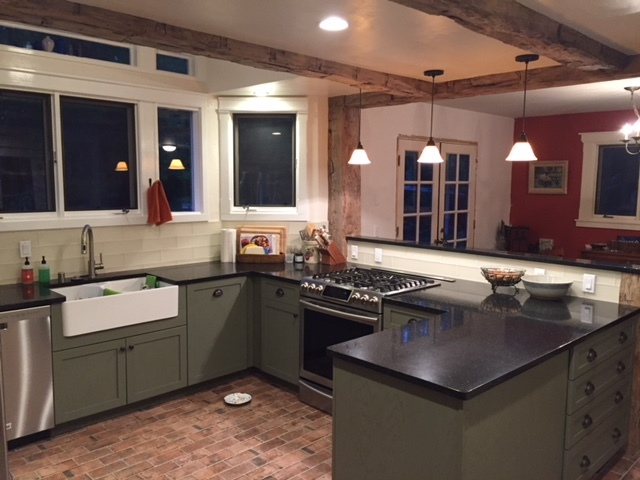 wood beams, kitchen, farm house kitchen, farm house style