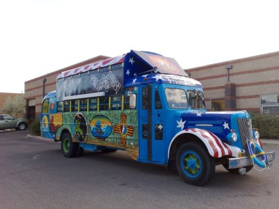 Norm ruth's Terrapin Trailways Bus