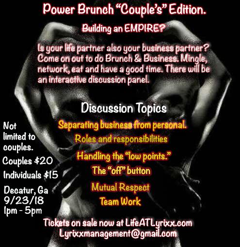 Couple's Power Brunch