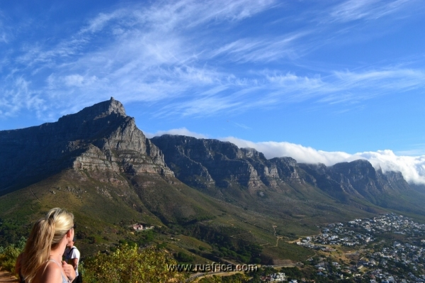 поднятие на гору в Кейптауне