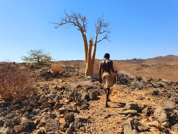 Дамара люди Намибии