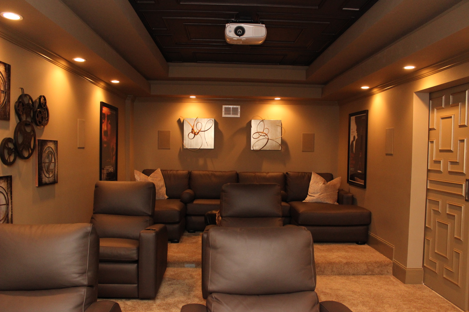 Theater Room,
