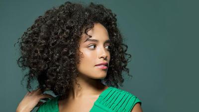 Curly Hair Bangs Ideas