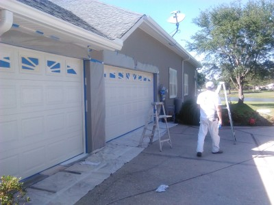 Stucco House Painting