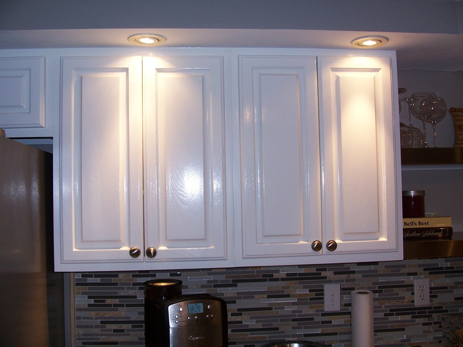 Gloss finish on Kitchen Cabinets