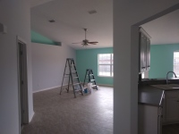 Grey Walls with accent