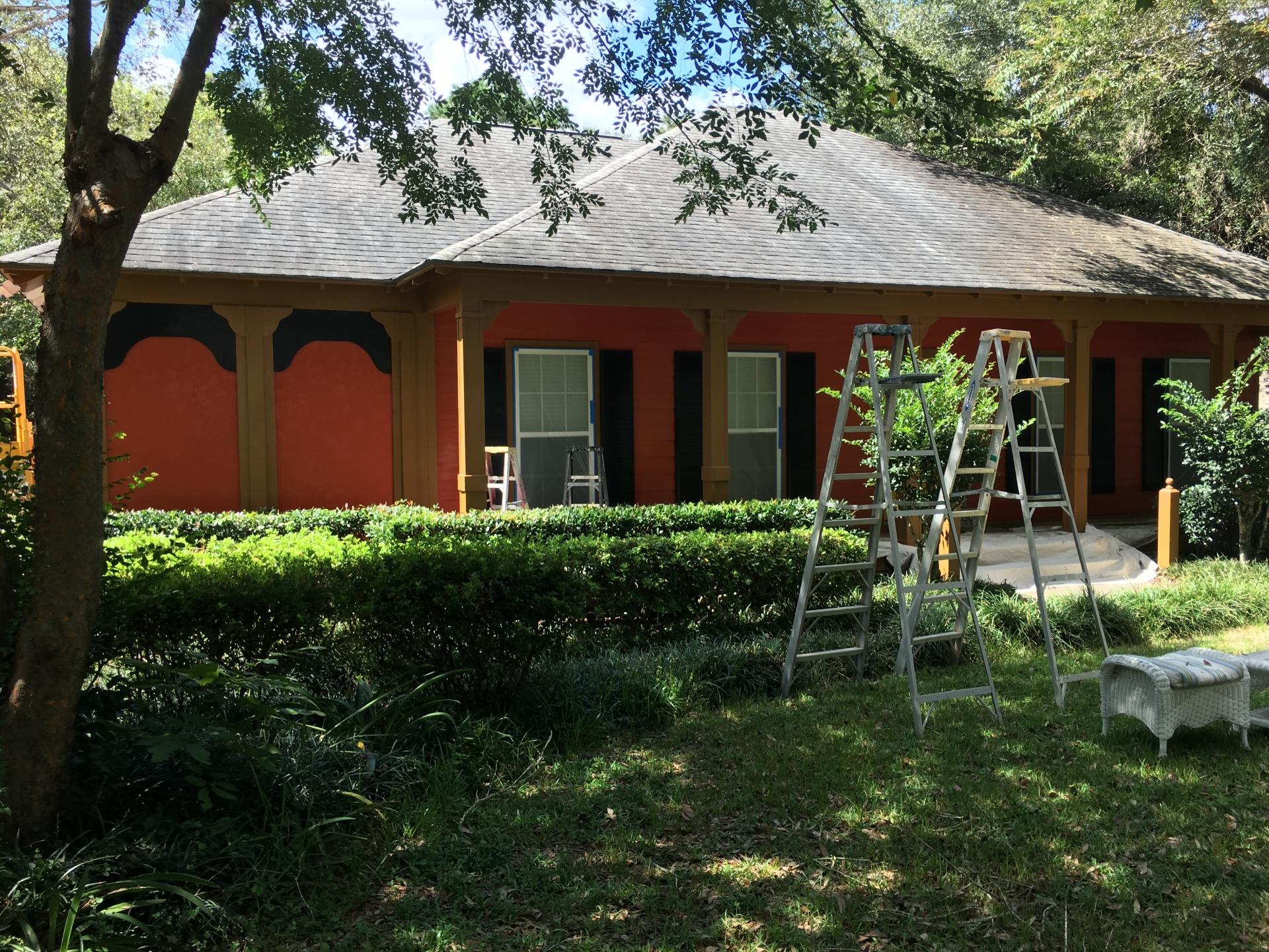Light Blue Painted Home - Magnolia Springs AL
